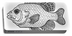 Pumpkinseed Fish Portable Battery Charger