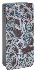 Punting Pattern Portable Battery Charger