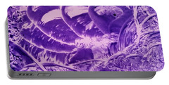 Purple Abstract, Octopus Portable Battery Charger