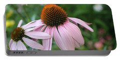 Purple Coneflower Pair Portable Battery Charger