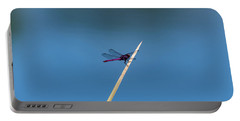 Purple Dragonfly Portable Battery Charger
