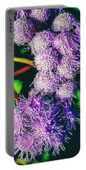 Purple Fur Portable Battery Charger