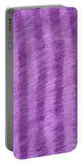 Purple Hazy Nights Portable Battery Charger