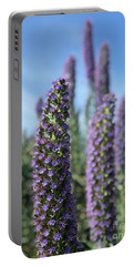 Purple Hyssop  Portable Battery Charger