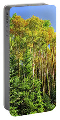 Quaking Aspens Portable Battery Charger