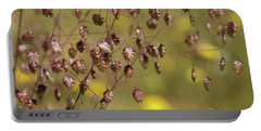Quaking Grass Portable Battery Charger
