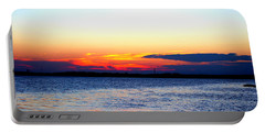 Radiant Sunset Portable Battery Charger