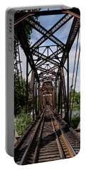 Railroad Bridge 6th Street Augusta Ga 1 Portable Battery Charger