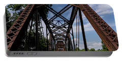 Railroad Bridge 6th Street Augusta Ga 2 Portable Battery Charger