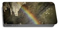 Rainbow At Letchworth Portable Battery Charger
