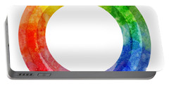 Rainbow Color Wheel Portable Battery Charger