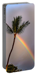 Rainbow Just Before Sunset Portable Battery Charger