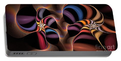 Rainbow Lillies-1 Portable Battery Charger