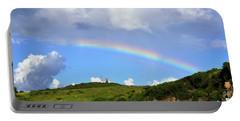 Rainbow Over Buck Island Lighthouse Portable Battery Charger