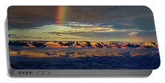 Rainbow Over Sedona Portable Battery Charger