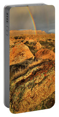 Rainbow Over The Book Cliffs Portable Battery Charger