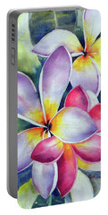 Rainbow Plumerias Portable Battery Charger