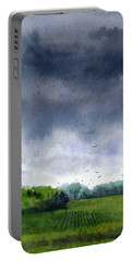 Rains Coming Portable Battery Charger