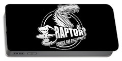 Raptor Comics Black Portable Battery Charger
