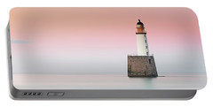 Rattray Lighthouse Sunset- Scotland Portable Battery Charger