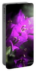 Rays Of Bougainvillea Portable Battery Charger