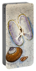 Razor Clams Portable Battery Charger