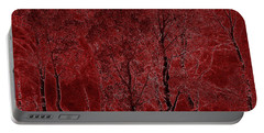 Red Aspen Grove Portable Battery Charger
