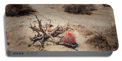 Red Barrel Cactus Portable Battery Charger