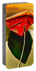 Portable Battery Charger featuring the photograph Red Boat by Tom Gresham