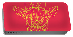 Red Giraffe  Portable Battery Charger