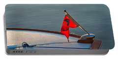 Portable Battery Charger featuring the photograph Red Pennant by Tom Gresham