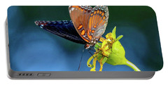 Red-spotted Purple Butterfly Portable Battery Charger
