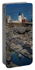 Reflecting On Pemaquid Light Portable Battery Charger
