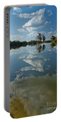 Reflections By The Lake Portable Battery Charger