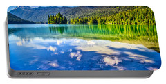 Reflections In Packwood Lake Portable Battery Charger