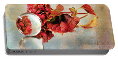 Portable Battery Charger featuring the photograph Reflective Mood by Randi Grace Nilsberg