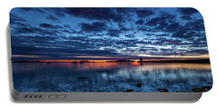 Reflective Sunrise Portable Battery Charger