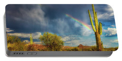 Portable Battery Charger featuring the photograph Respite From The Storm by Rick Furmanek