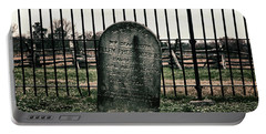 Portable Battery Charger featuring the photograph Rest In Peace by Travis Rogers
