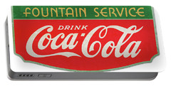 Retro Coke Sign Portable Battery Charger