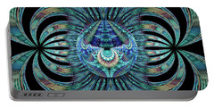 Portable Battery Charger featuring the digital art Revelation by Missy Gainer