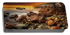 Rhoscolyn Coastline Sunset  Portable Battery Charger