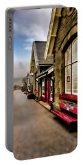 Ribblehead Railway Station Digital Painting Portable Battery Charger