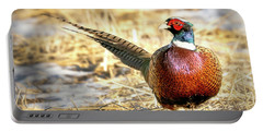 Ring-necked Pheasant Portrait Portable Battery Charger