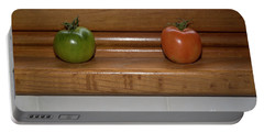 Ripening Tiny Tomatoes Portable Battery Charger