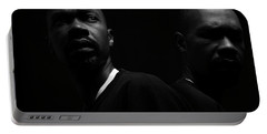 Portable Battery Charger featuring the photograph Rivals. by Eric Christopher Jackson