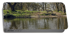 Rivington  Japanese Pool Bench. Portable Battery Charger