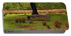 Rivington. Terraced Gardens. Feeding Trough. Portable Battery Charger