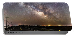 Road To Milky Way Portable Battery Charger