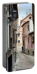 Roads Of Toledo - Spain Portable Battery Charger